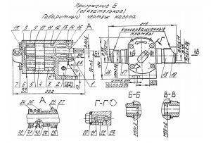 Насос НМШ2-40 в разрезе